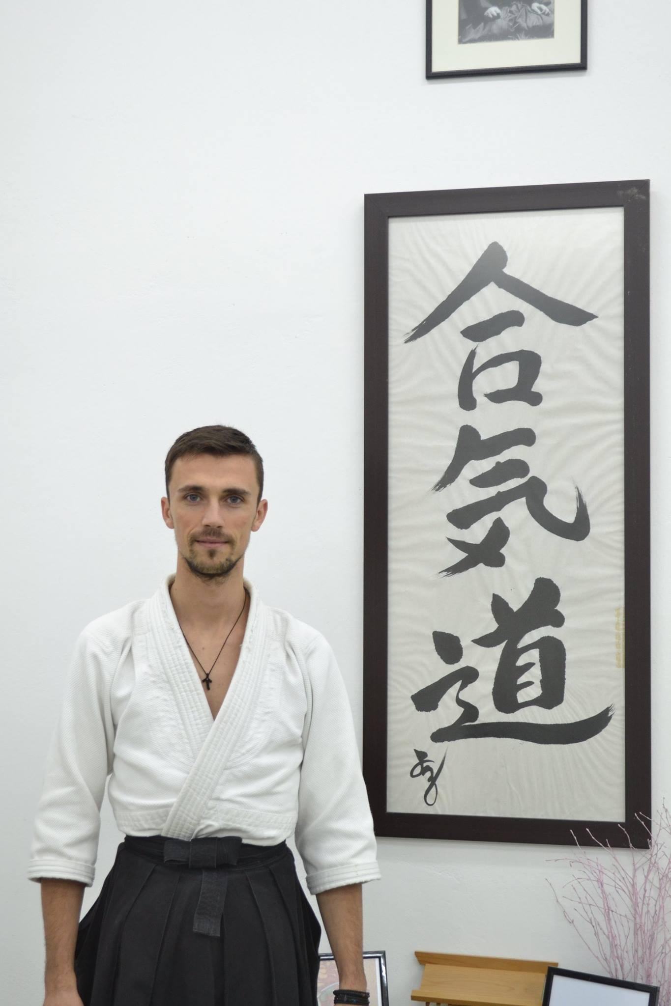 Ραφαήλ Πρίφτη Fukushidoin, 2o Dan Aikikai